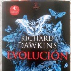 Libros de segunda mano: EVOLUCIÓN. EL MAYOR ESPECTÁCULO SOBRE LA TIERRA. RICHARD DAWKINS. Lote 84772344
