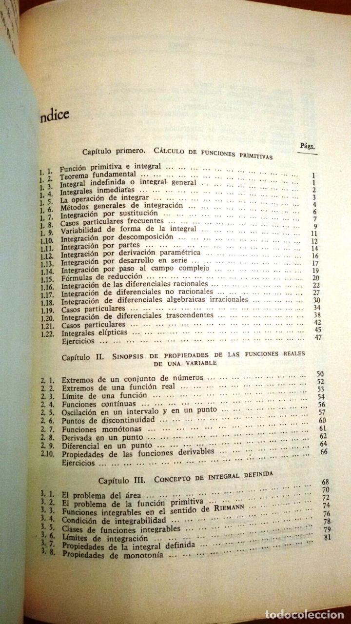 Libros de segunda mano de Ciencias: AMPLIACIÓN DE MATEMÁTICAS PARA TÉCNICOS (MARÍN TEJERIZO 1965) SIN USAR - Foto 2 - 104789460