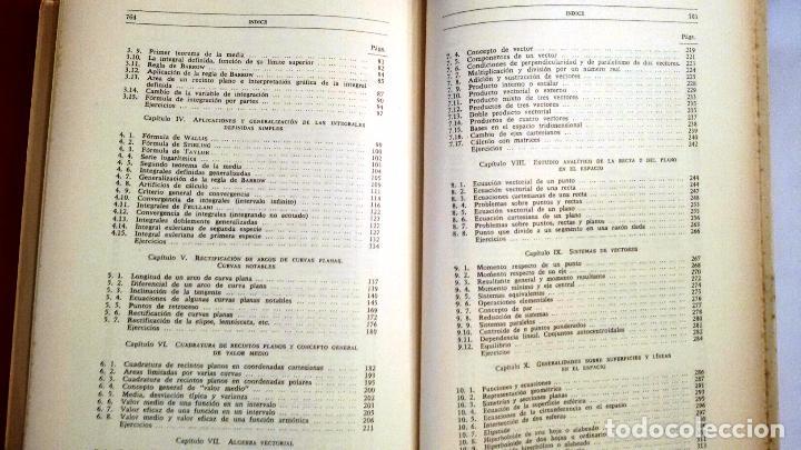 Libros de segunda mano de Ciencias: AMPLIACIÓN DE MATEMÁTICAS PARA TÉCNICOS (MARÍN TEJERIZO 1965) SIN USAR - Foto 3 - 104789460
