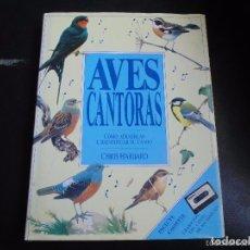 Libros de segunda mano: LIBRO AVES CANTORAS EDITORIAL ACANTO .1991 ILUSTRADO FOTOS Y DIBUJOS - -REFSAMUESC. Lote 85149320