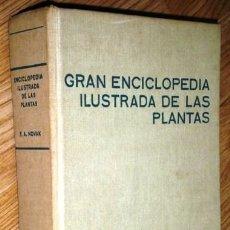 Libros de segunda mano: GRAN ENCICLOPEDIA ILUSTRADA DE LAS PLANTAS POR F. A. NOVAK DE CÍRCULO DE LECTORES EN BARCELONA 1972. Lote 85429316