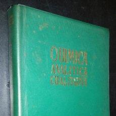 Libros de segunda mano de Ciencias: QUIMICA ANALITICA CUALITATIVA / BURRIEL MARTI, LUCENA CONDE, ARRIBAS JIMENO. Lote 85625368