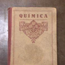 Libros de segunda mano de Ciencias: ELEMENTOS DE QUÍMICA. Lote 85838999