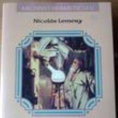 Libros de segunda mano de Ciencias: HERMETISMO - CURSO QUÍMICO. Lote 86185960