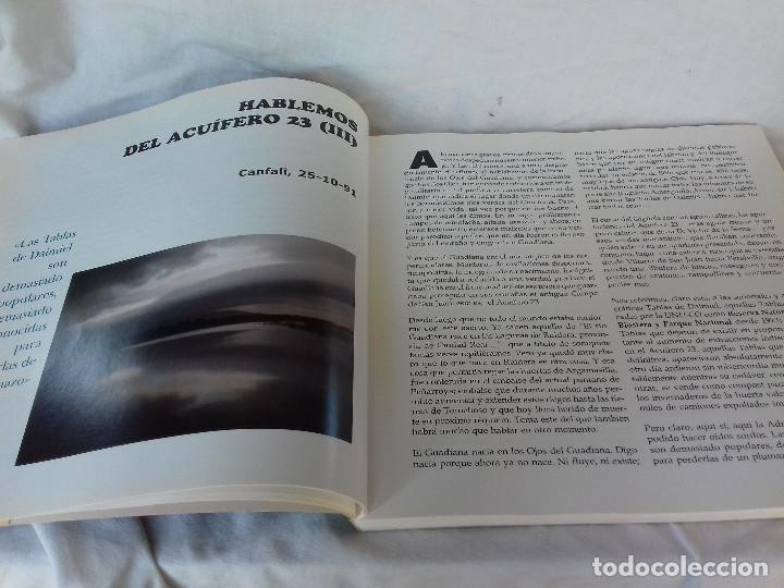 Libros de segunda mano: HABLEMOS DEL ACUIFERO 23-MARIANO VELASCO LIZCANO-CONSEJERIA OBRAS P. J.C.CASTILLA LA MANCHA 2001 - Foto 7 - 86544660