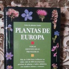 Libros de segunda mano: PLANTAS DE EUROPA (GUIA DE PLANTAS GODET). PLAZA Y JANES. GRAN TAMAÑO, TAPA DURA. MUY ILUSTRADO.. Lote 93152468