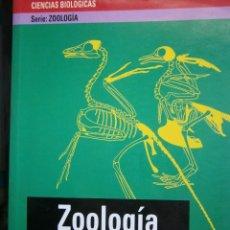 Libros de segunda mano: ZOOLOGIA APROXIMACION EVOLUTIVA A LA DIVERSIDAD Y ORGANIZACION DE LOS ANIMALES JOSE DIAZ TOMAS 2000. Lote 86720224