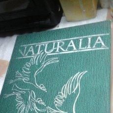 Libros de segunda mano: NATURALIA.TOMO 1.CODEX.1965. Lote 86950320