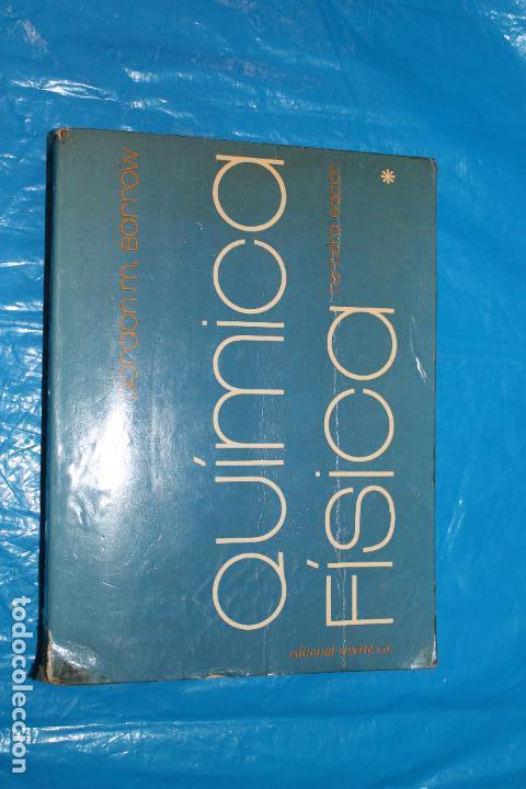 QUMICA FISICA, GORDON M. BARROW, EDITORIAL REVERTE 1978 (Libros de Segunda Mano - Ciencias, Manuales y Oficios - Física, Química y Matemáticas)