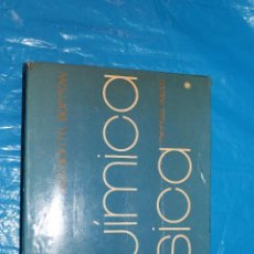 Libros de segunda mano de Ciencias: QUMICA FISICA, GORDON M. BARROW, EDITORIAL REVERTE 1978. Lote 86954628