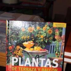 Libros de segunda mano: PLANTAS DE TERRAZAZ Y BALCON (JARDINERIA PARA PRINCIPIANTES). Lote 87163580