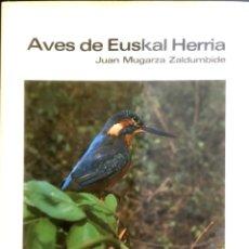 Libros de segunda mano: AVES DE EUSKAL-HERRIA.. Lote 87235272