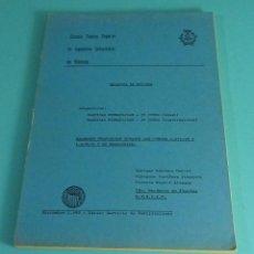 Libros de segunda mano de Ciencias: MÁQUINAS HIDRÁULICAS. EXÁMENES PROPUESTOS DURANTE LOS CURSOS 1977-78 Y 1978-79 Y SU RESOLUCIÓN. UPV. Lote 88166576