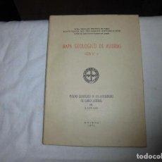 Libros de segunda mano: MAPA GEOLOGICO DE ASTURIAS. HOJA Nº 4. ESTUDIO GEOLOGICO DE LA REGION DEL NORTE DE LLANERA (OVIEDO). Lote 88926964