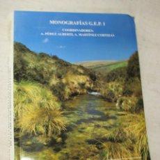 Livros em segunda mão: AVANCES EN LA RECONSTRUCCIÓN PALEOAMBIENTAL DE LAS ÁREAS DE MONTAÑAS LUCENSES - PEREZ ALBERTI + INFO. Lote 88998464