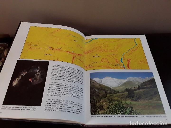 Libros de segunda mano: ESPEOLOGIA -LA AVENTURA DE ARAÑONERA: AL DESCUBRIMIENTO DEL PIRINEO SUBTERRANEO. - Foto 8 - 89434836