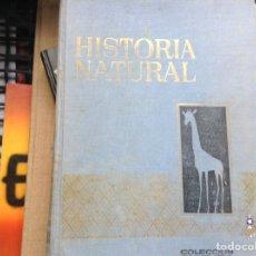 Libros de segunda mano: HISTORIA NATURAL. Lote 89445504