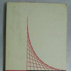 Libros de segunda mano de Ciencias: PROBLEMAS DE CALCULO INFINITESIMAL. TOMO I. TEBAR FLORES. Lote 89695820
