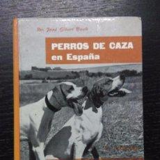 Libros de segunda mano: PERROS DE CAZA EN ESPAÑA, GIBERT BUCH, JOSE, 1975. Lote 89812836