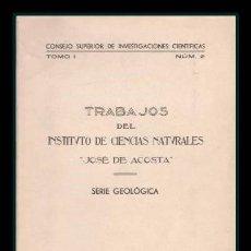 Libros de segunda mano: GOMEZ-LLUECA, FEDERICO: MAMIFEROS FOSILES DEL TERCIARIO. Lote 90211964