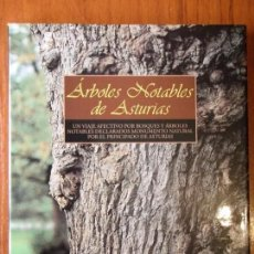 Libros de segunda mano: LIBRO ARBOLES NOTABLES DE ASTURIAS . Lote 90365744