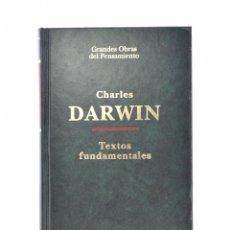 Libros de segunda mano: TEXTOS FUNDAMENTALES - DARWIN, CHARLES. Lote 90430264