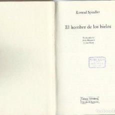 Libros de segunda mano: EL HOMBRE DE LOS HIELOS.. Lote 90674335