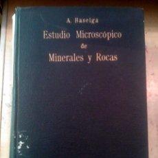 Libros de segunda mano - ESTUDIO MICROSCÓPICO DE MINERALES Y ROCAS (Madrid, 1945) - 90755620