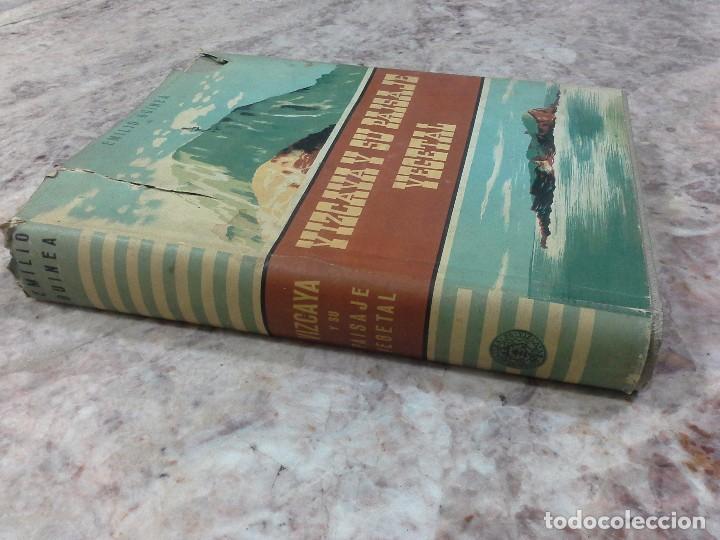 VIZCAYA SU PAISAJE VEGETAL .1949 (Libros de Segunda Mano - Ciencias, Manuales y Oficios - Biología y Botánica)