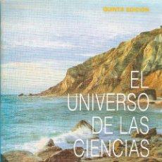 Libros de segunda mano de Ciencias: EL UNIVERSO DE LAS CIENCIAS FÍSICAS. KONRAD B. KRAUSKOPF, ARTHUR BEISER. Lote 90917305