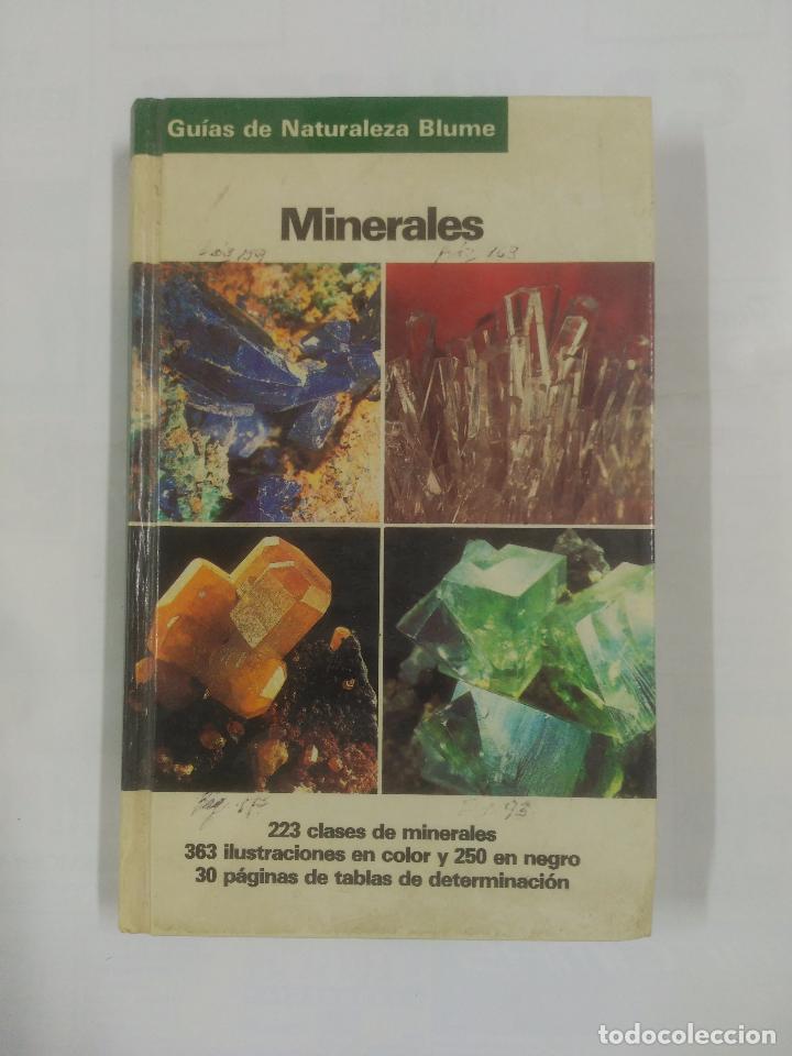MINERALES. GUIAS DE LA NATURALEZA BLUME. 1994. OLAF MEDENBACH. CORNELIA SUSSIECK. TDK178 (Libros de Segunda Mano - Ciencias, Manuales y Oficios - Paleontología y Geología)