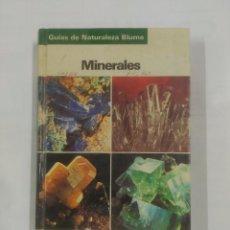 Libros de segunda mano: MINERALES. GUIAS DE LA NATURALEZA BLUME. 1994. OLAF MEDENBACH. CORNELIA SUSSIECK. TDK178. Lote 91143405
