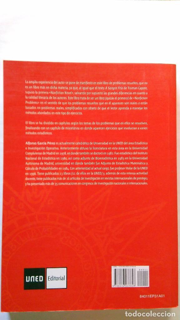 Libros de segunda mano de Ciencias: Problemas resueltos de estadística básica. NUEVO - Foto 2 - 91145130