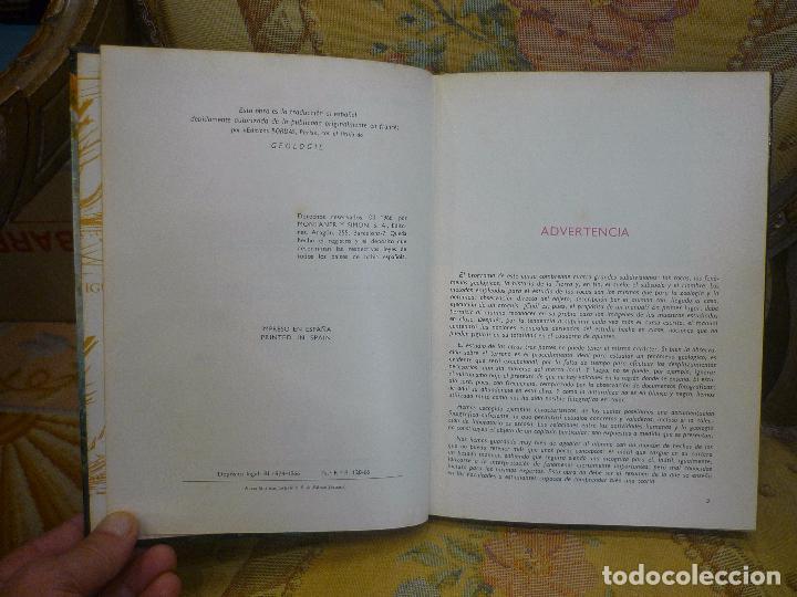 Libros de segunda mano: GEOLOGÍA, DE AIMÉ RUDEL. MONTANER Y SIMÓN, 1ª EDICIÓN 1.966. MUY ILUSTRADO. - Foto 5 - 91302465