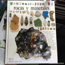 Libros de segunda mano: ROCAS Y MINERALES. Lote 91328013