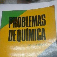 Libros de segunda mano de Ciencias: PROBLEMAS DE QUIMICA.M.J.SIENKO. Lote 92836313