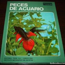 Libros de segunda mano: PECES DE ACUARIO - DOCUMENTAL EN COLOR - ED. TEIDE/ INST. GEOGRÁFICO DEAGOSTINI - 1973. Lote 93190855