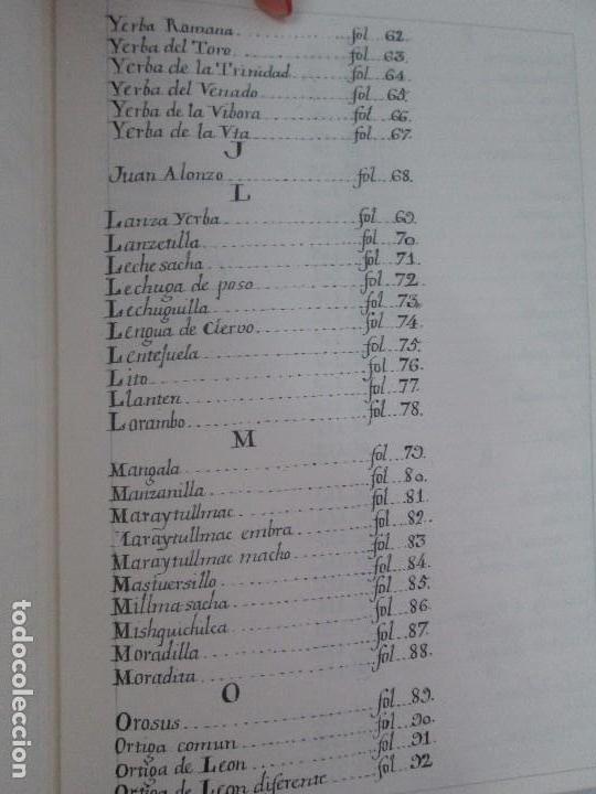 Libros de segunda mano: MARTINEZ COMPAÑON TRUJILLO DEL PERU. TOMO IV Y V. LAMINAS DE PLANTAS. EDICION ESPECIAL PARA MERCASA - Foto 21 - 93346125