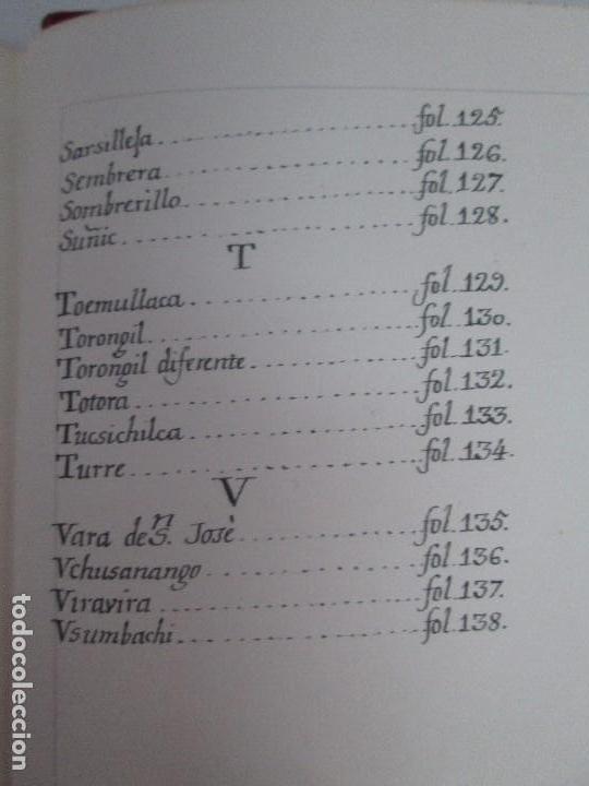 Libros de segunda mano: MARTINEZ COMPAÑON TRUJILLO DEL PERU. TOMO IV Y V. LAMINAS DE PLANTAS. EDICION ESPECIAL PARA MERCASA - Foto 23 - 93346125