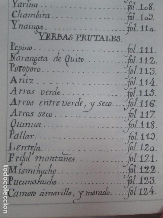Libros de segunda mano: MARTINEZ COMPAÑON TRUJILLO DEL PERU. TOMO IV Y V. LAMINAS DE PLANTAS. EDICION ESPECIAL PARA MERCASA - Foto 48 - 93346125
