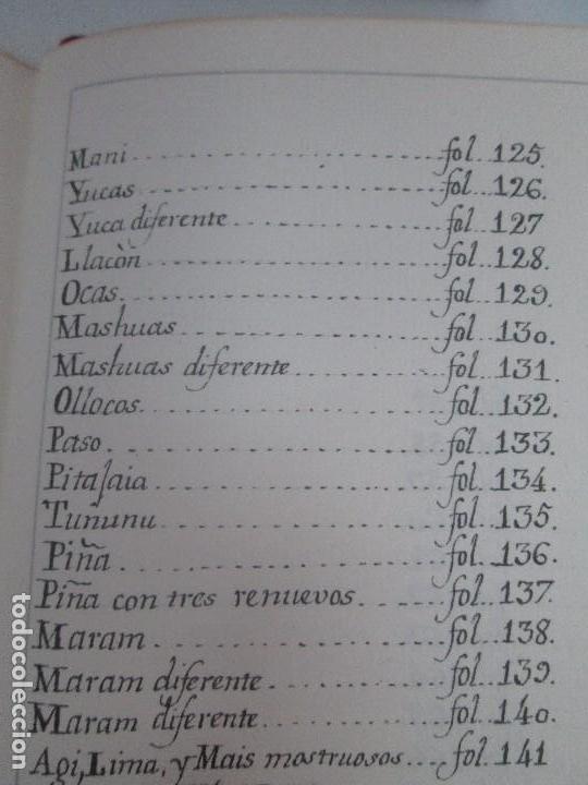 Libros de segunda mano: MARTINEZ COMPAÑON TRUJILLO DEL PERU. TOMO IV Y V. LAMINAS DE PLANTAS. EDICION ESPECIAL PARA MERCASA - Foto 49 - 93346125