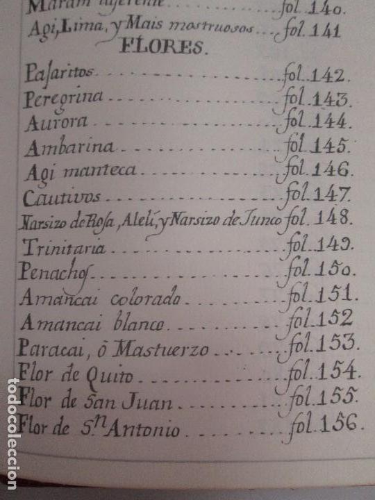 Libros de segunda mano: MARTINEZ COMPAÑON TRUJILLO DEL PERU. TOMO IV Y V. LAMINAS DE PLANTAS. EDICION ESPECIAL PARA MERCASA - Foto 50 - 93346125