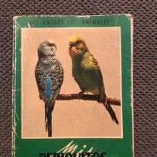 Libros de segunda mano: LIBRO. PERIQUITOS, LOROS, PALOMAS Y TÓRTOLAS (H.1973?). Lote 93964939