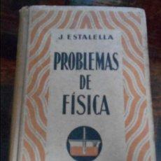 Libros de segunda mano de Ciencias: PROBLEMAS DE FISICA. COLECCION QUE CONTIENE LOS DEL TRATADO POPULAR DE FISICA DE KLEIBER Y KARSTEN Y. Lote 94303906