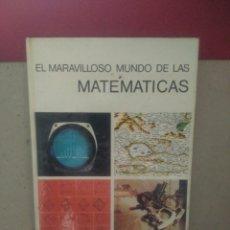 Libros de segunda mano de Ciencias: EL MARAVILLOSO MUNDO DE LAS MATEMÁTICAS .LANCELOT HOGBEN. EDITORIALAGUILAR. Lote 94325383