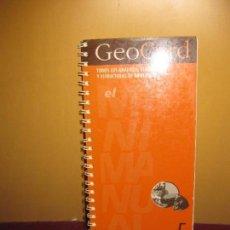 Livros em segunda mão: GEOCARD. TODOS LOS GRAFICOS, ESQUEMAS Y ESTRUCTURAS DE GEOLOGIA. EL MINIMANUAL Nº 5. CASTELLNOU. Lote 94328986