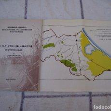 Libros de segunda mano: LA ALBUFERA DE VALENCIA - UN ESTUDIO PILOTO.. Lote 94386478