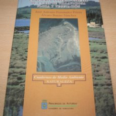 Libros de segunda mano: LA RESERVA NATURAL PARCIAL DE LA RÍA DE VILLAVICIOSA - FLORA Y VEGETACIÓN. Lote 94428438