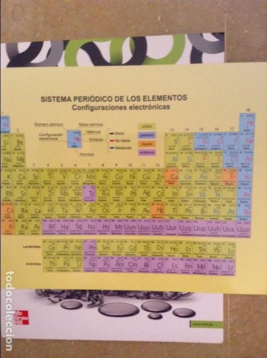editorial mcgraw hill incluye tabla periodica libros de segunda mano de ciencias fisica y quimica 1 bachillerato angel rodriguez y - Tabla Periodica De Los Elementos Mc Graw Hill