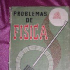 Libros de segunda mano de Ciencias: PROBLEMAS DE FÍSICA MARCOS Y MARTÍNEZ EDICIONES SM MADRID PREUNIVERSITARIOS . Lote 95137127